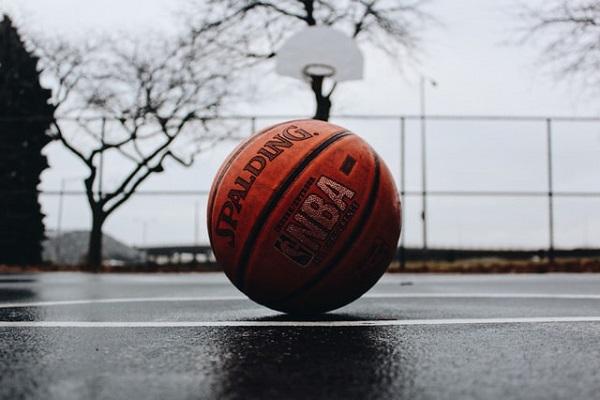 koripalloharjoittelu sateisena päivänä